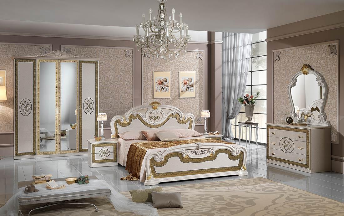 Natalie Italian Bedroom Furniture Sets